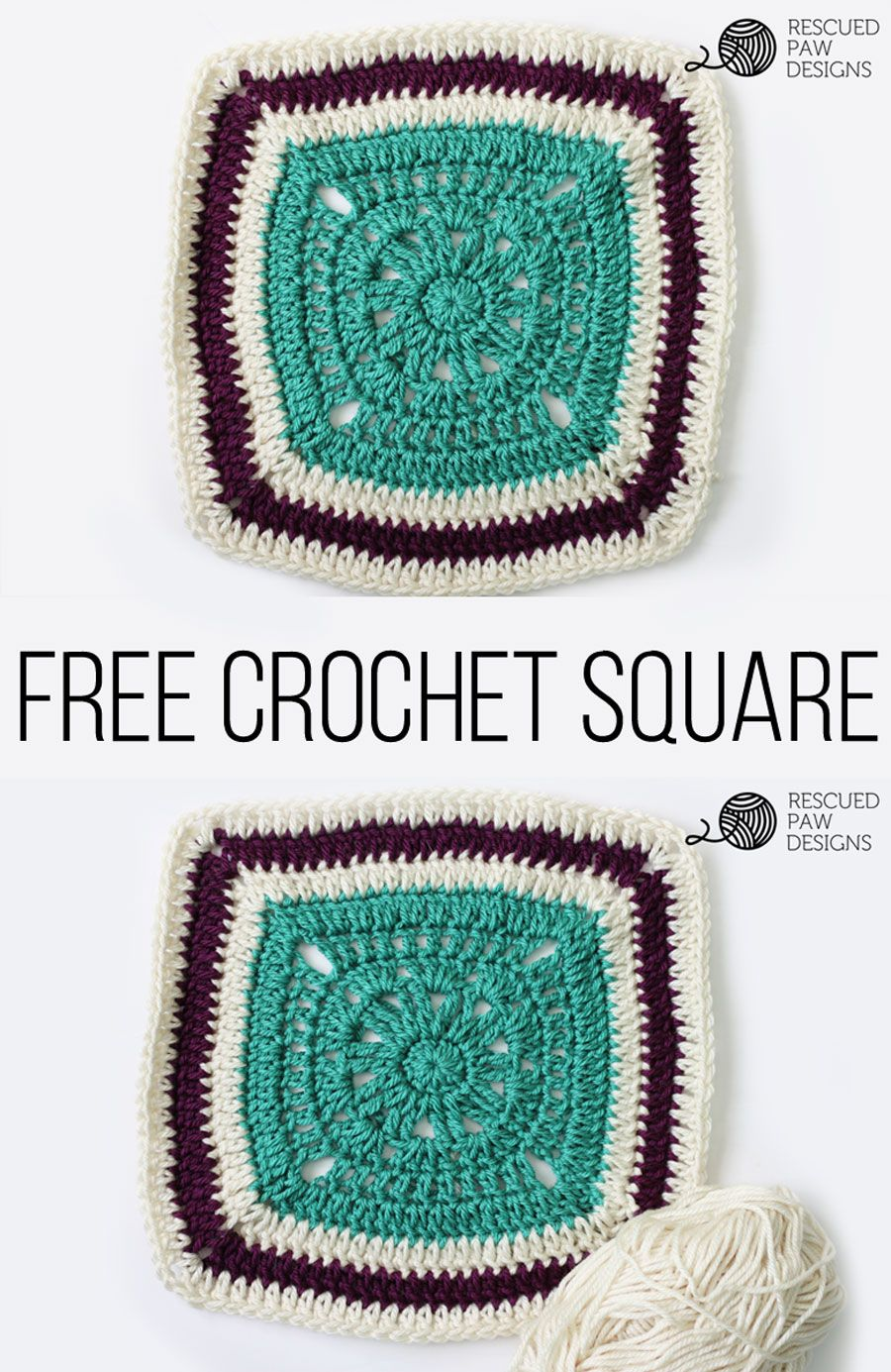 Free crochet blanket square pattern squares the ojays and free free crochet blanket square pattern bankloansurffo Image collections