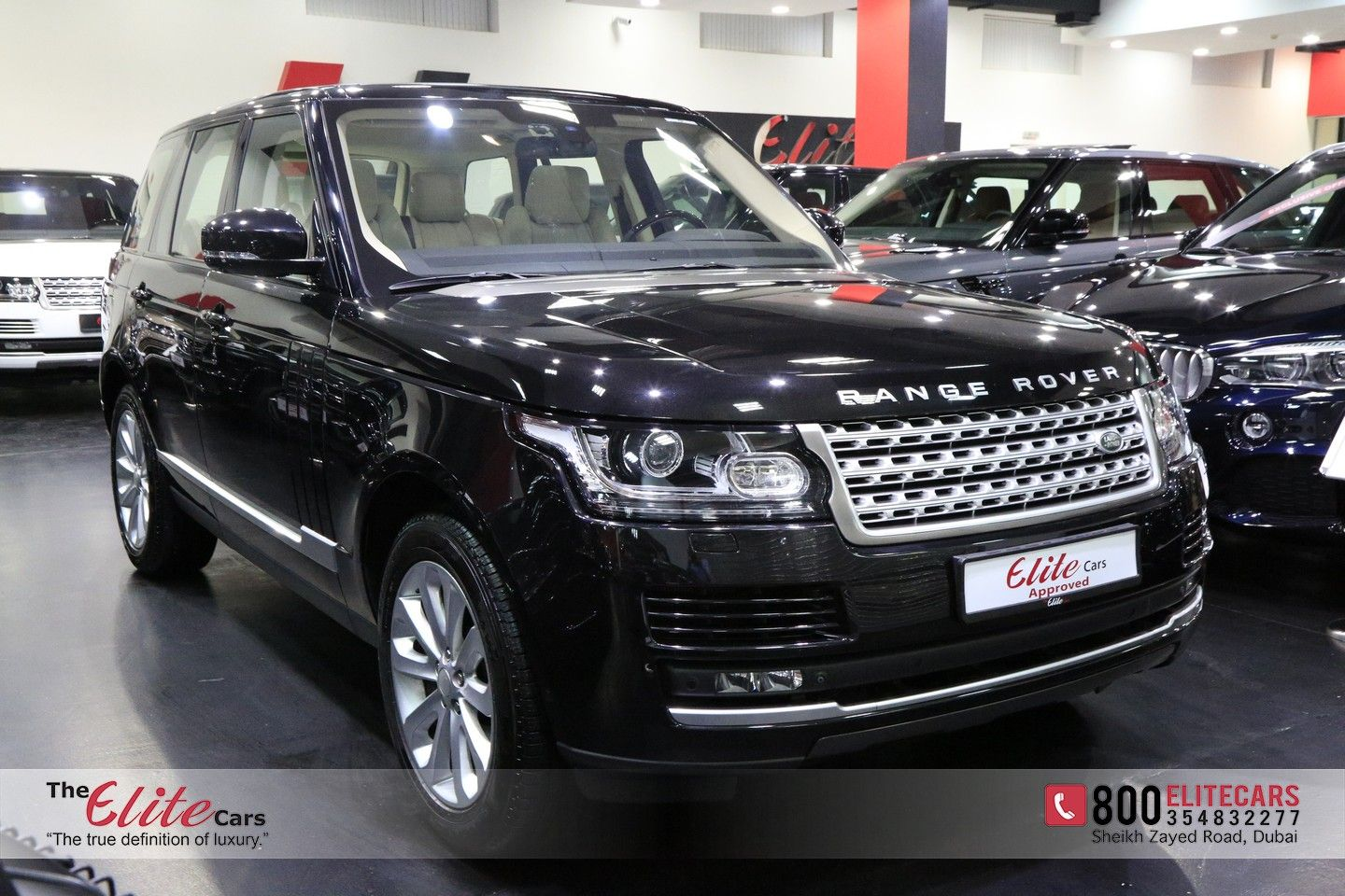 RANGE ROVER VOGUE SUPERCHARGED 2015 The Elite Cars For