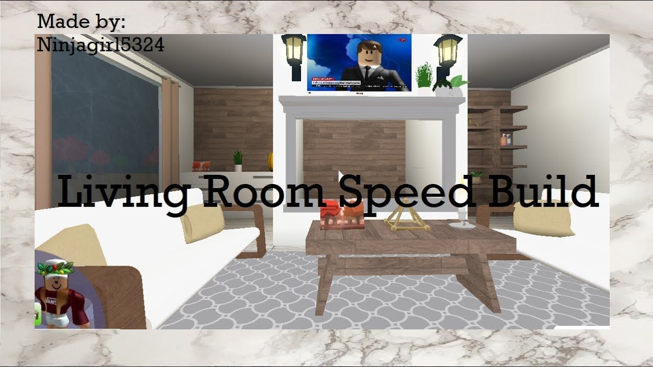 Welcome To Bloxburg Living Room Speed Build Living Room Furniture Ideas 47966886 Interior Decoration Dining Room Design Layout Room Design Cute Living Room