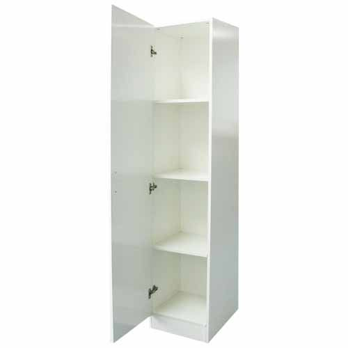 NOUVEAU CUPBOARD WARM WHITE SEMIGLOSS Mitre 40 Storage Inspiration Floating Shelves Mitre 10