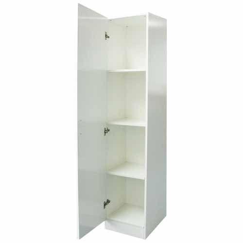NOUVEAU CUPBOARD WARM WHITE SEMIGLOSS Mitre 40 Storage Inspiration Floating Shelves Mitre 10