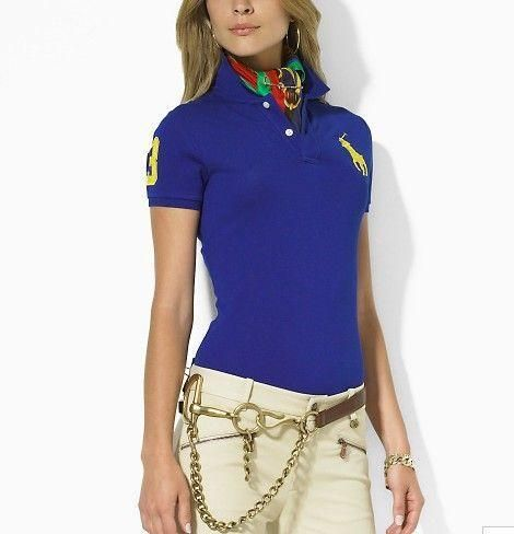 polo ralph lauren outlet uk Women\u0027s Classic Big Pony Short Sleeve Polo  Shirt Royal Blue [Shop 2386] - $40.58 : Cheap Designer Polo Shirts Outlet  Online in ...