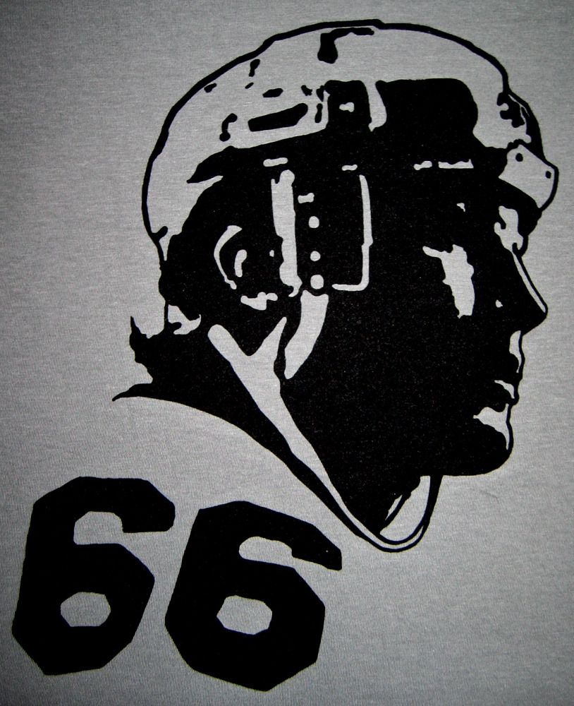 """Image of Mario Lemieux """"66"""" tee by Backpage Press"""
