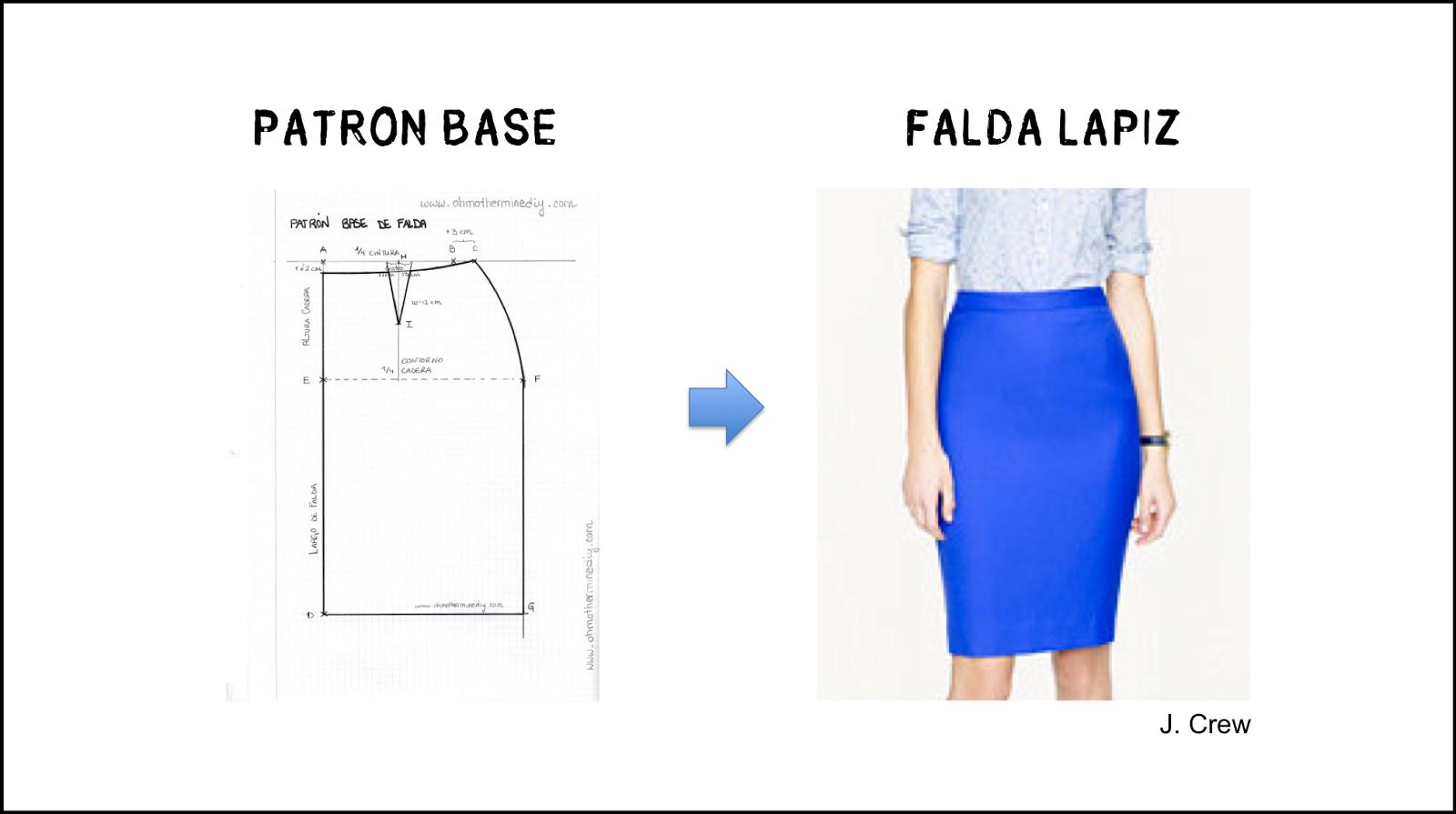 Modelos de faldas y sus patrones | Costura | Pinterest