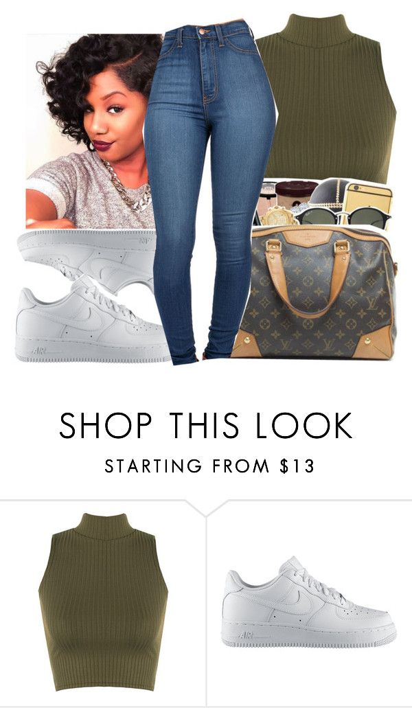 """""""Untitled #433"""" by queen-dope ❤ liked on Polyvore featuring moda, WearAll y NIKE"""