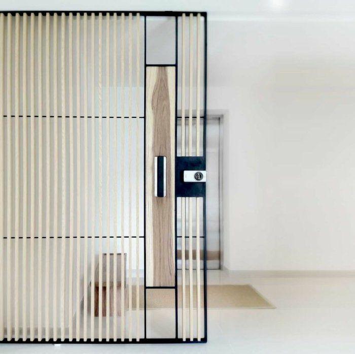 d couvrir la porte galandage en beaucoup de photos cloison pinterest style japonais. Black Bedroom Furniture Sets. Home Design Ideas
