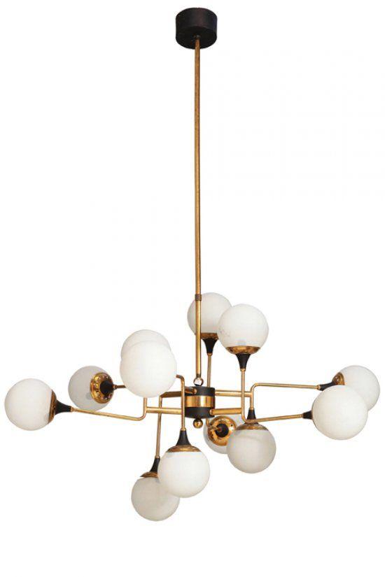lampadario vintage anni 50 lamps(灯) Pinterest