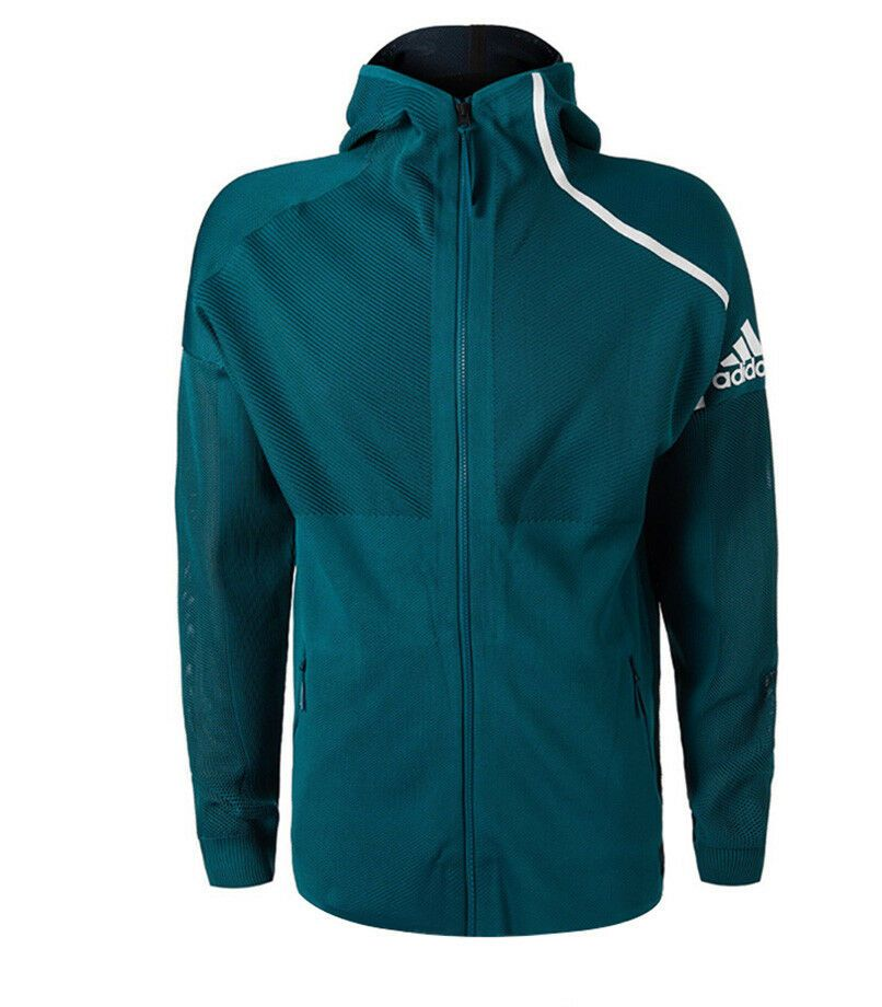 Adidas Men S Parley Zne Hoodie Jacket Green Tennis Clothing Au Open Nwt Dp0285 Adidas Coatsjackets Tennis Clothes Hoodie Jacket Clothes