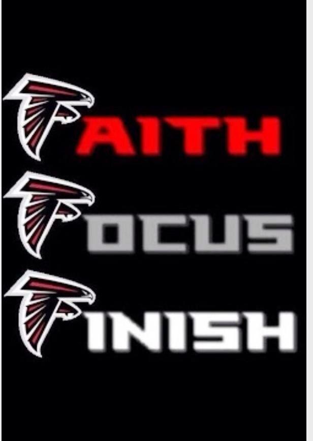Faith Focus Finish Atlanta Falcons Football Atlanta Falcons Crafts Atlanta Falcons
