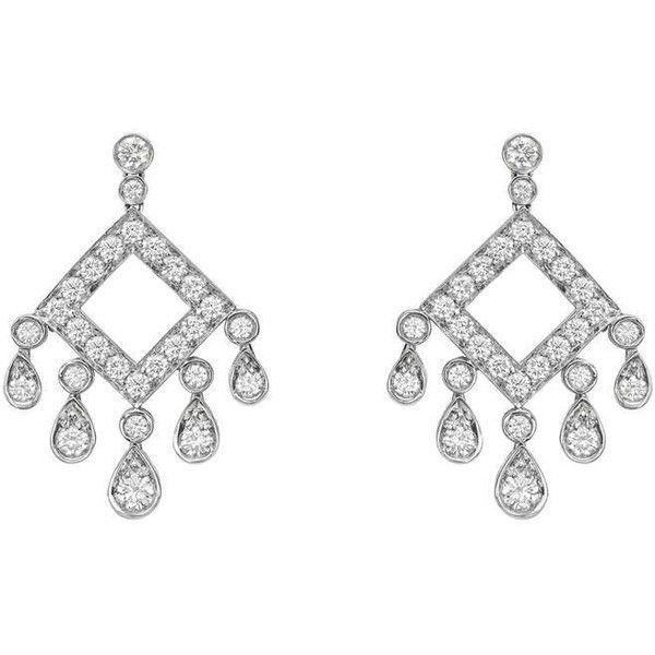 c976f14e7 Tiffany & Co. Diamond Chandelier 'Legacy' Earrings   1stdibs.com via  Polyvore