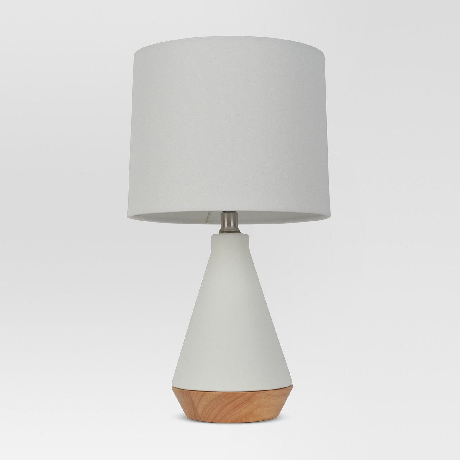 Modern Tapered Ceramic Table Lamp White Project 62 Ceramic Table Lamps Table Lamp White Table Lamp