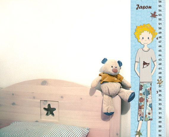 Toddler Boys Growth Chart Personalized Skateboard Decor By Rotemz