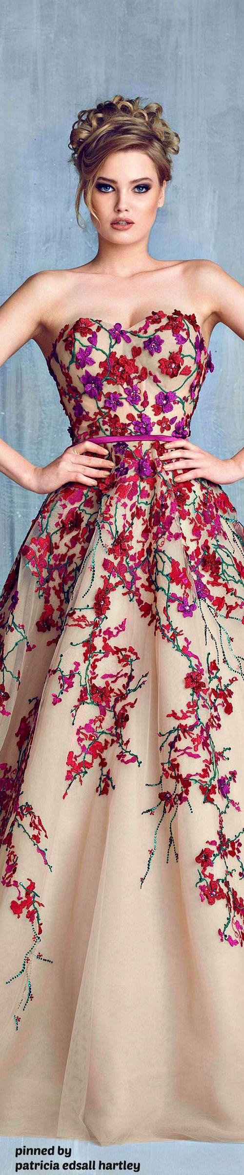 Tony Chaaya SS 2016 Couture | FASHION | Pinterest | Vestiditos ...