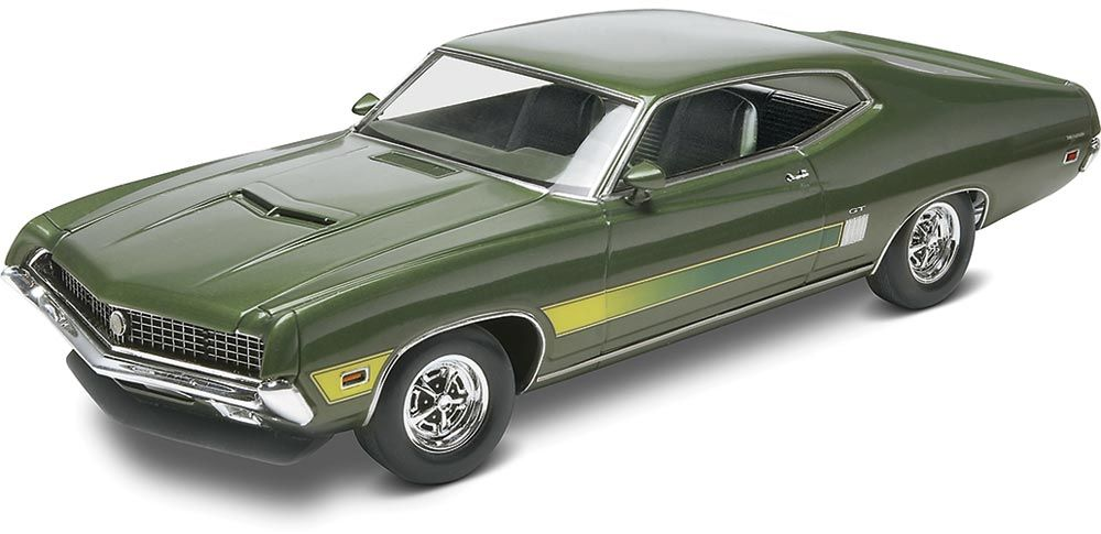 1970 Ford Torino GT 2 'n 1 Plastic Model Kit 1/25 scale. FROM REVELL. # 85-4099