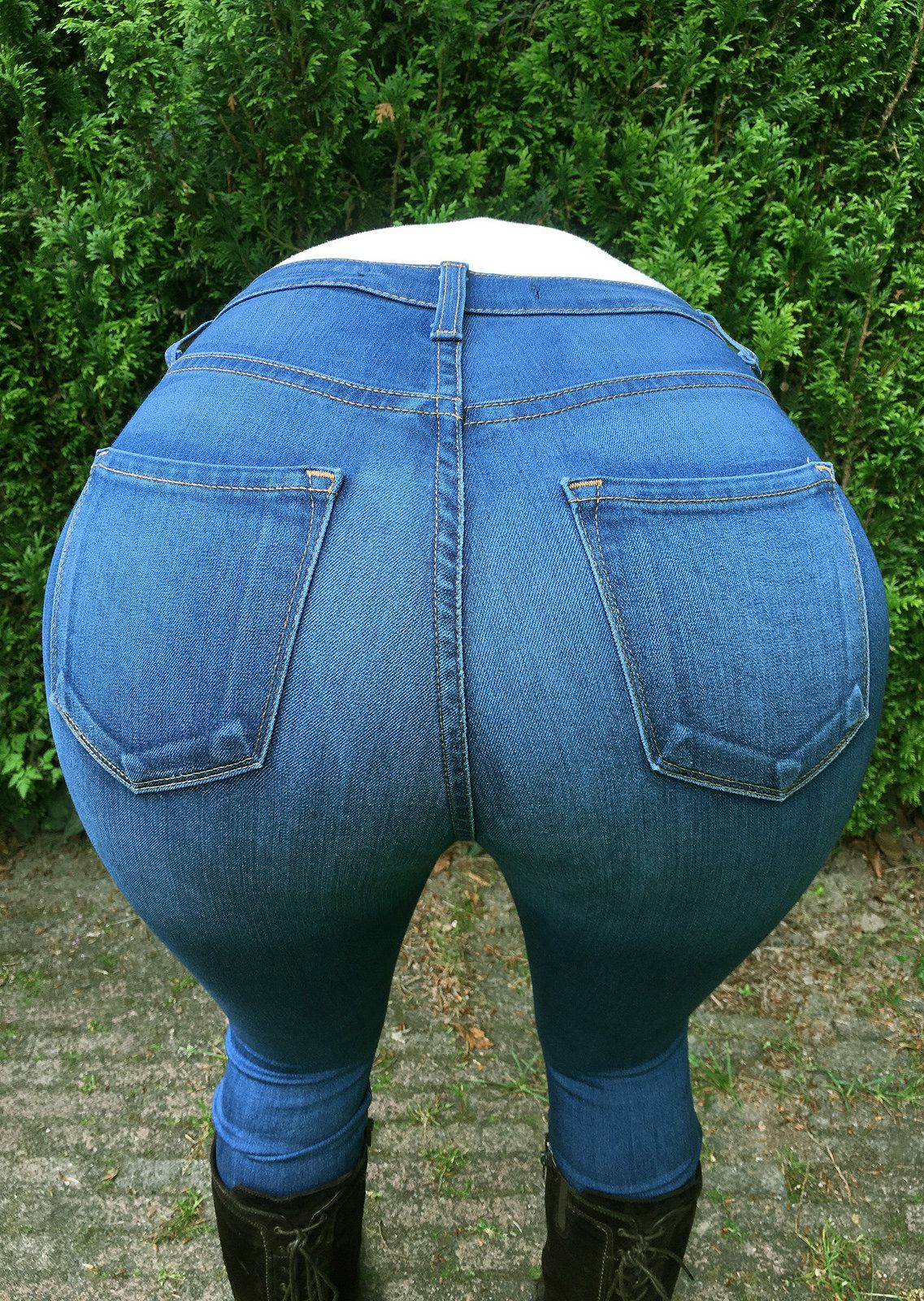 Ass and jeans