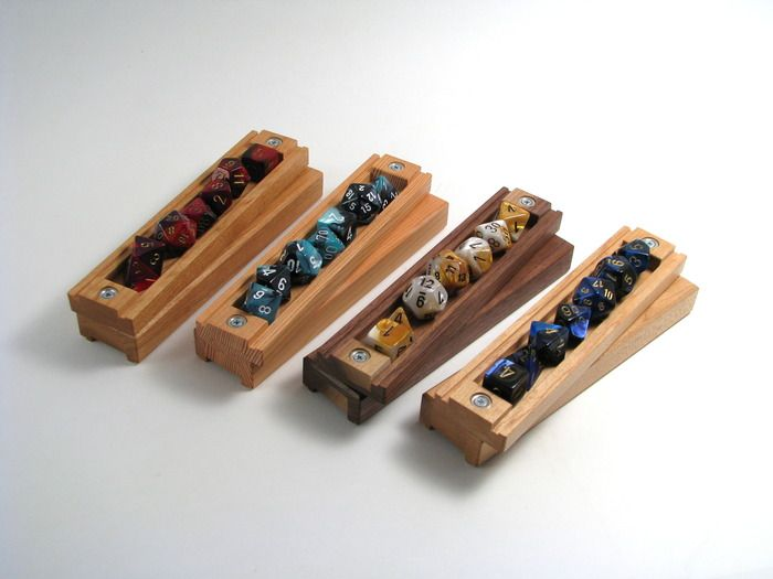 The Wyrmwood Gaming Dice Vault: A Handcrafted Wooden Case