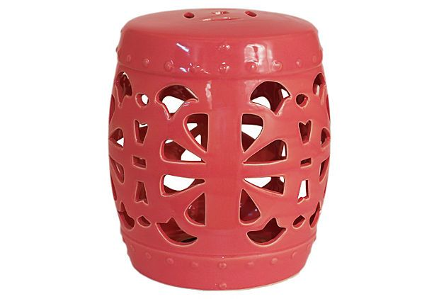 Excellent Coral Garden Stool Yawn Evokes Tropical Paradise For Pdpeps Interior Chair Design Pdpepsorg