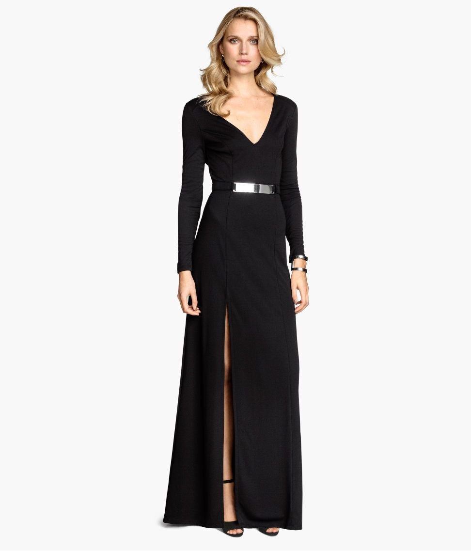 Long Dress - Black | H&M US