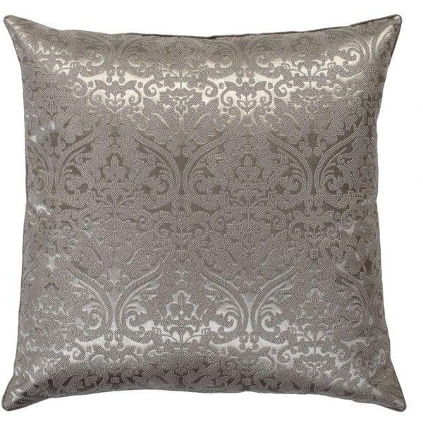 "Sauvignon Pillow 22"" (21 KWD) ❤ liked on Polyvore featuring home, home decor, throw pillows, pillows, decor, traditional home decor, patterned throw pillows and square throw pillows"