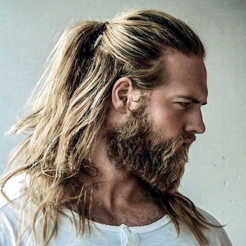 50 Popular Haircuts For Men 2021 Styles Hair Styles Long Hair Styles Men Man Ponytail