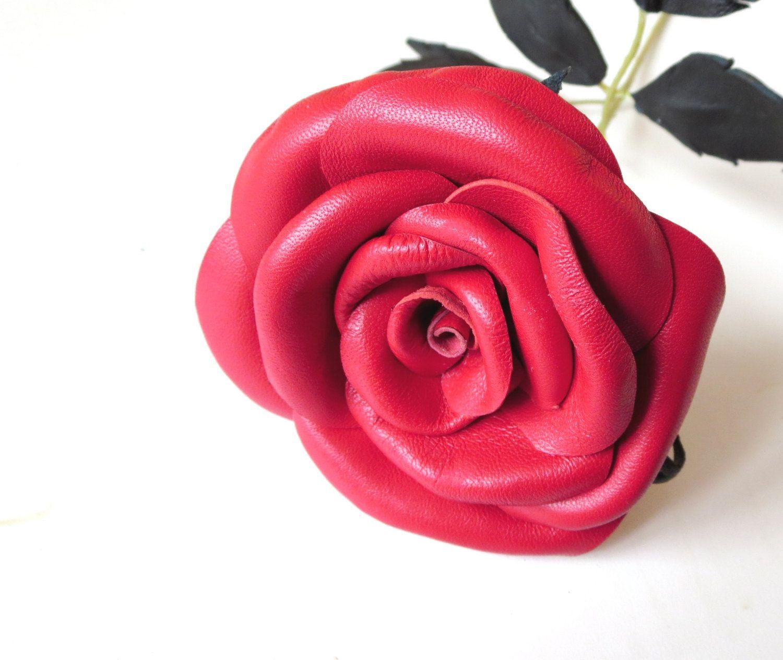 Long stem red rose symbol of love leather rose red flower long stem red rose symbol of love leather rose red flower wedding buycottarizona
