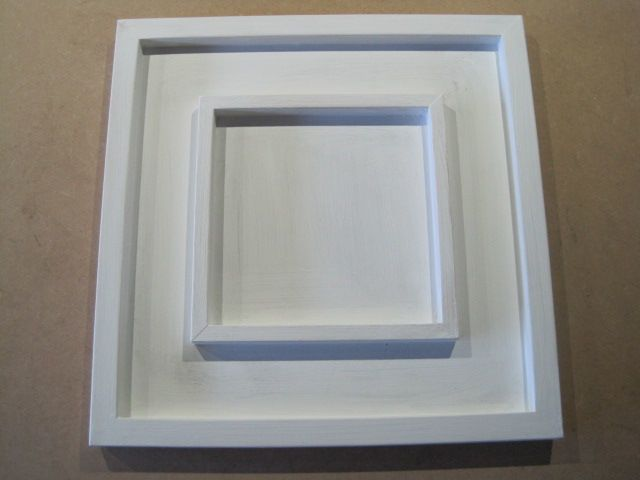 bespoke handmade tray frame to take 200x200mm canvas panel bdl framing portfolio frame home. Black Bedroom Furniture Sets. Home Design Ideas