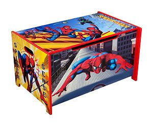 Choose from Boys Spiderman Bedroom Furniture, Bed,Desk,Toy Box ...