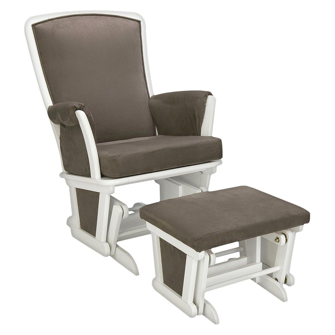 Delta haven glider and ottoman set target glider and