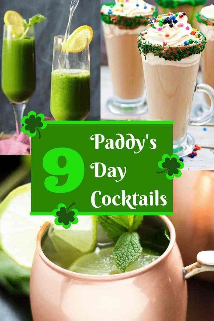 Irish themed cocktails for st patricks day st patricks