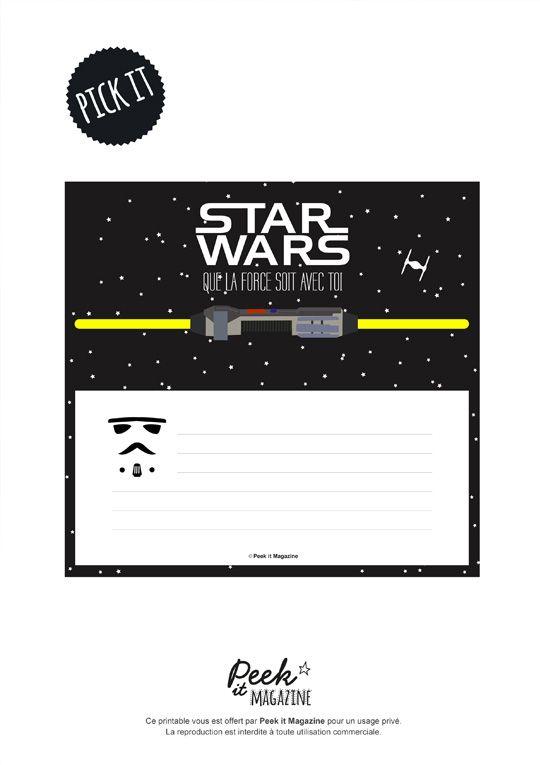 invitation kids party star wars - Carte Anniversaire Star Wars Imprimer