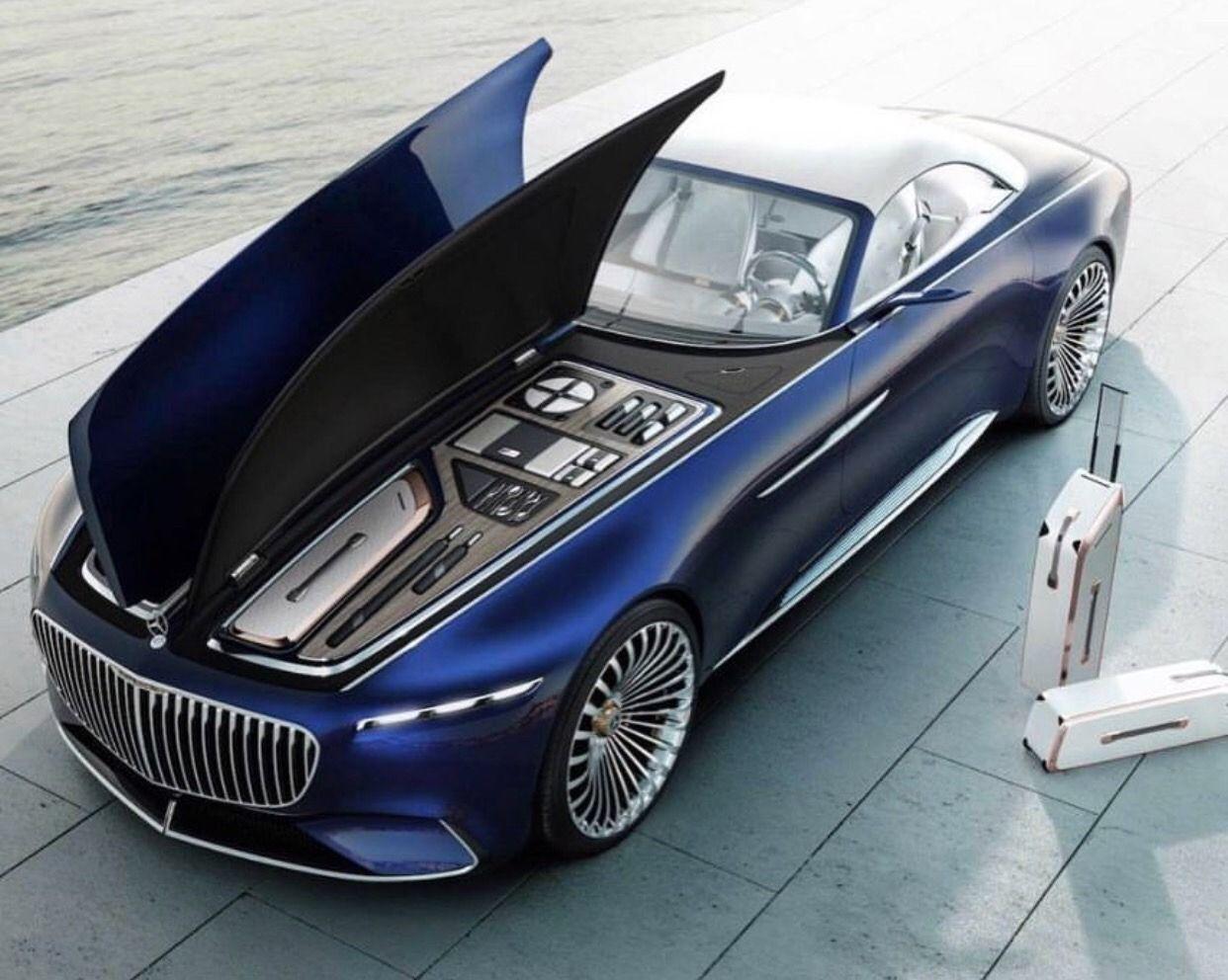 Luxury Maybach Coupe 2016