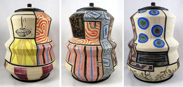 Title Jar Artist Mark Errol With Images Porcelain Ceramics