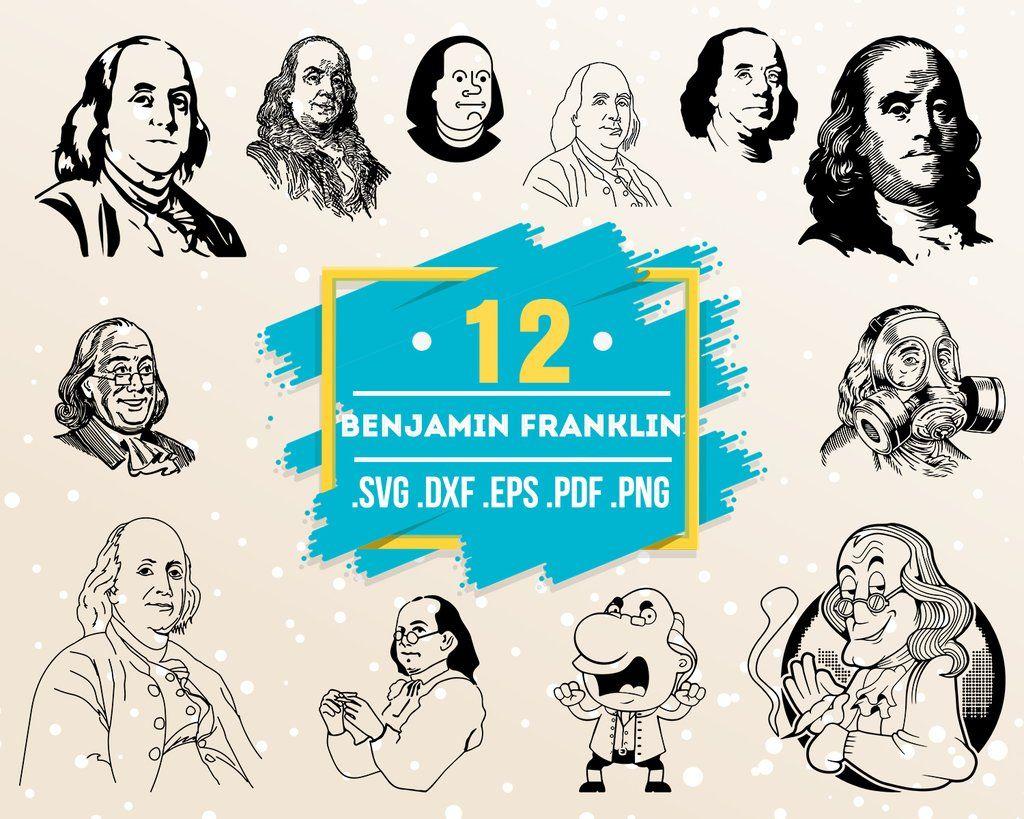 Benjamin Franklin Svg Benjamin Franklin Ben Drankin Money Dollar Png Merica 4th Of July Design For Printing Fourth Of July The Independence Day Jpg Png Fourth Of July Prints
