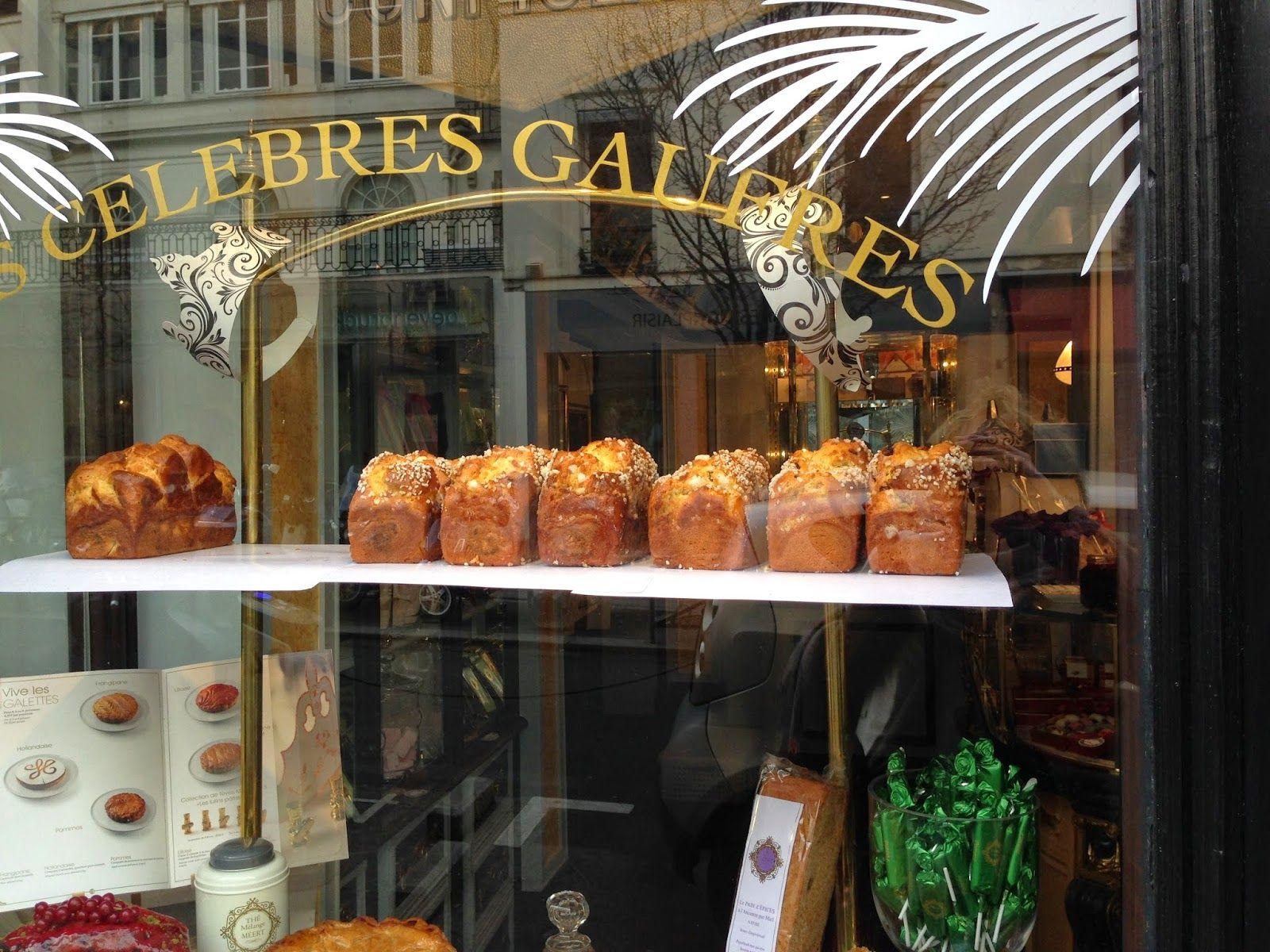 Focus On Paris: Brioches in a window