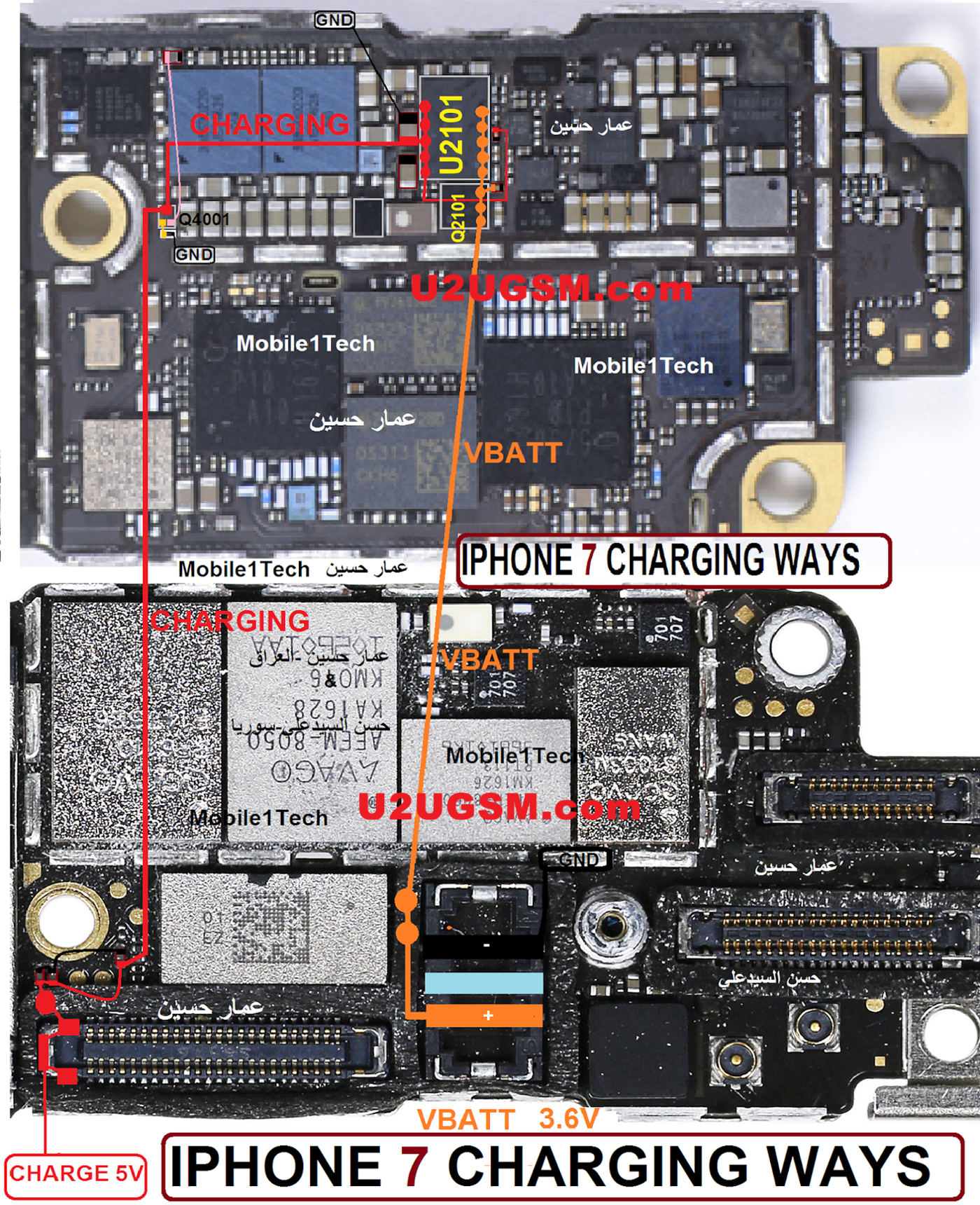 Iphone 7 Usb Charging Problem Solution Jumper Ways Download Free Cell Phone Charger Circuit Further Diagram Smartphone Repairing Repair Mobile