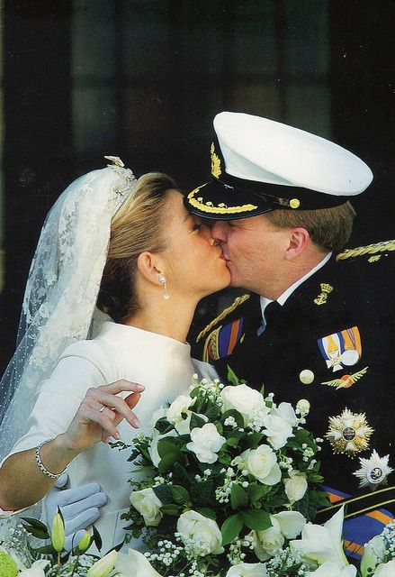 Wedding Of Prince Willem Alexander And Princess Maxima Princess Maxima Royal Brides Royal Weddings