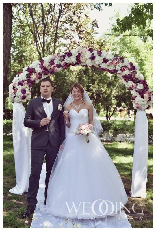 Wonderful Wedding Outdoor Ceremony In Yerevan Organized By Weddingarmenia Http Weddingarmeni Outdoor Wedding Ceremony Flower Girl Dresses Wedding Dresses