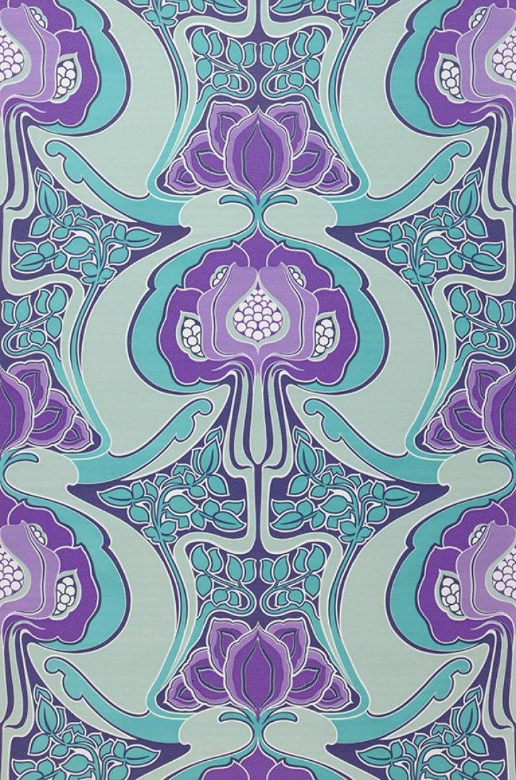 Tereza | Du sol au plafond | Pinterest | Pattern wallpaper and Wallpaper