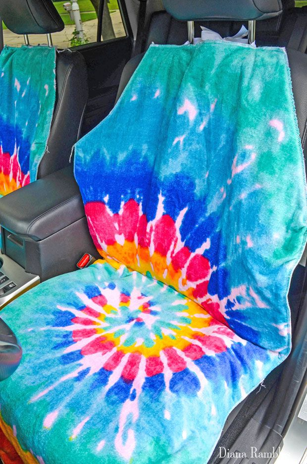 DIY Waterproof Seat Cover Tutorial Installation   Fun Craft Ideas ...