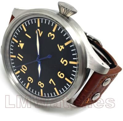 LMWatches - Parnis 60mm Gigantic Pilot Asian 6498 Sterile