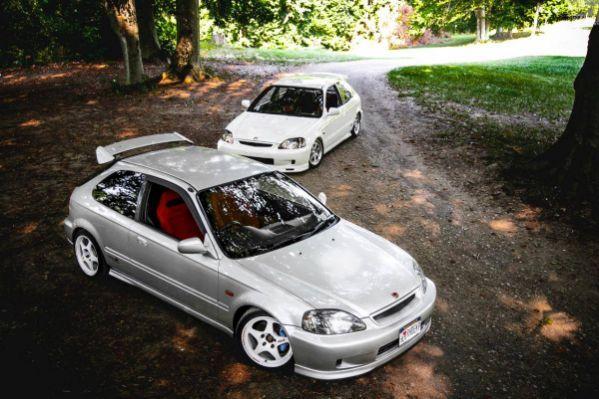 Ek9 Type R Silver Ny 2000 Vsm Jdm Honda Japan Cars Honda Civic