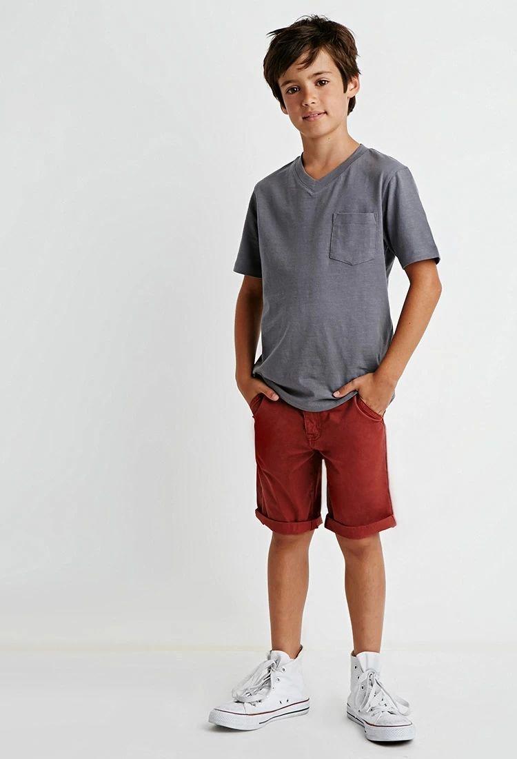 Boys Cotton Shorts (Boys) #f21kids