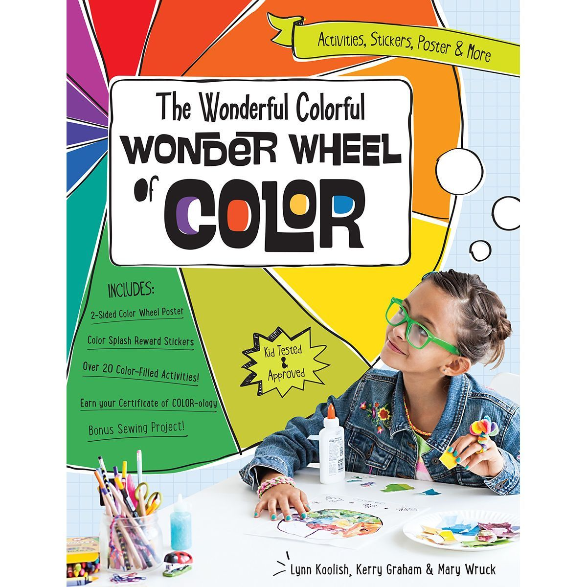 How to use a color wheel for decorating - Kids Will Learn How To Create Mix And Match Color To Use In Crafting