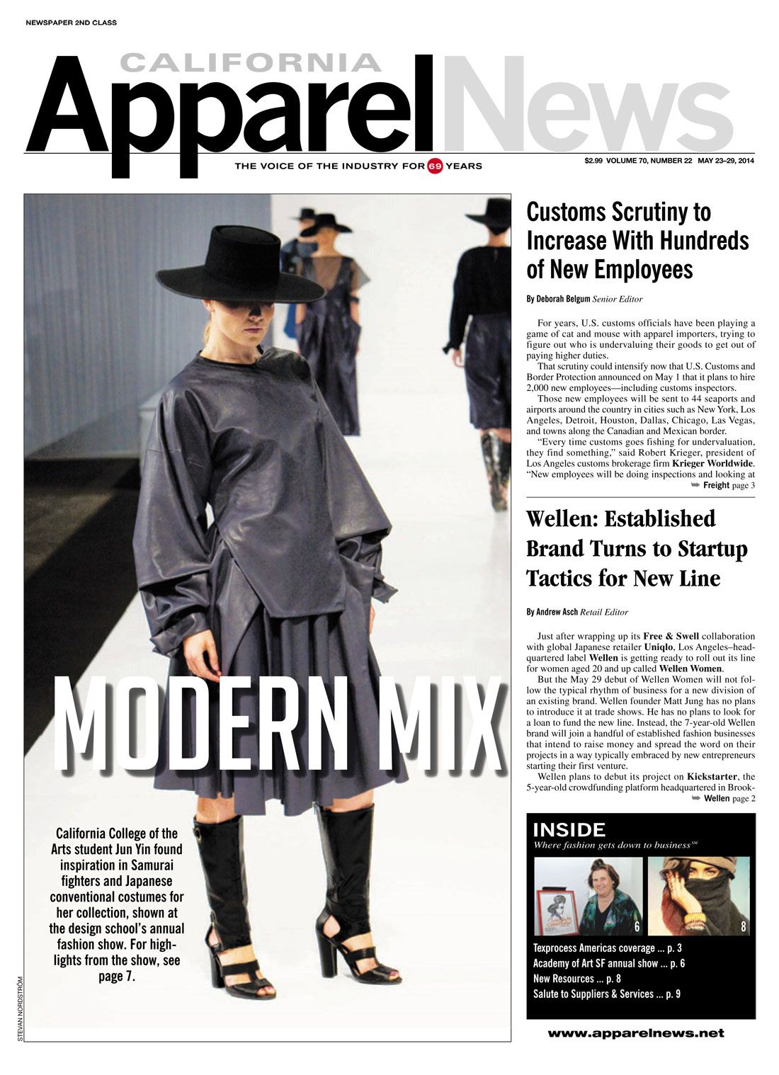 Fashion S Modern Mix Http Apparelnews Net Modern Mix Sf San Francisco California College Arts Fashion Design Pr California New Employee Apparel