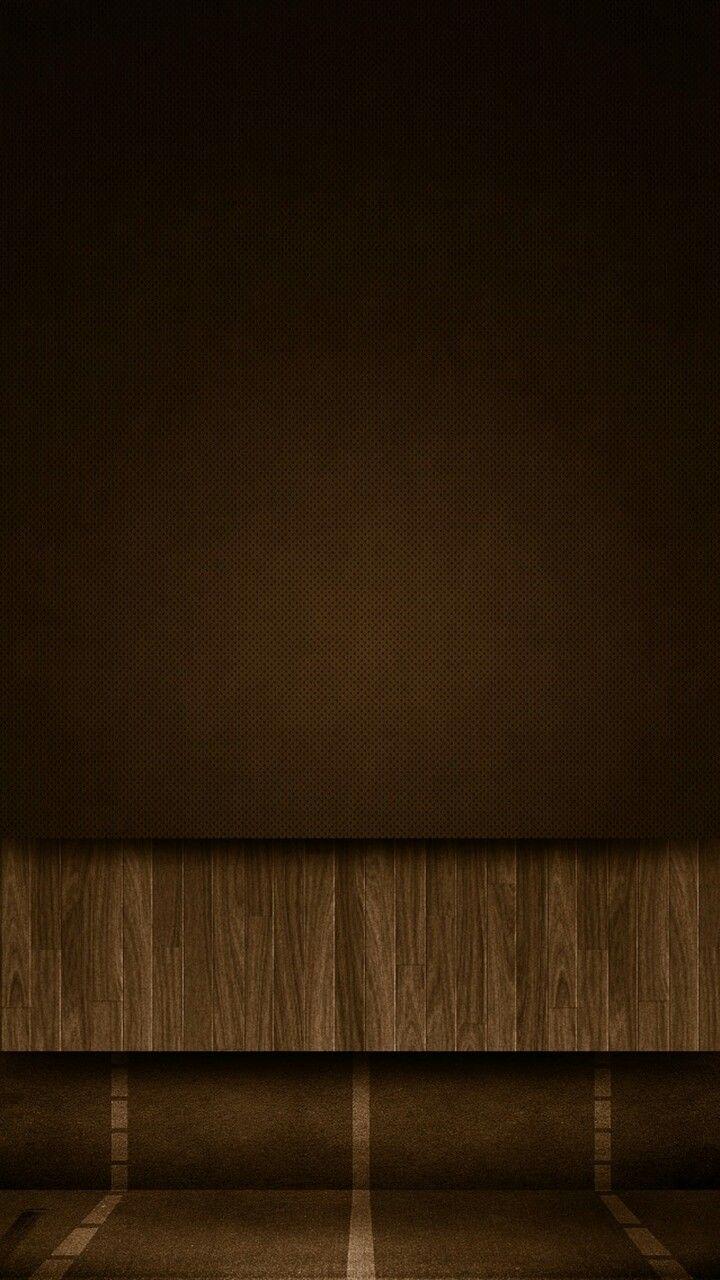 Brown Suede And Wood Dock Wallpaper