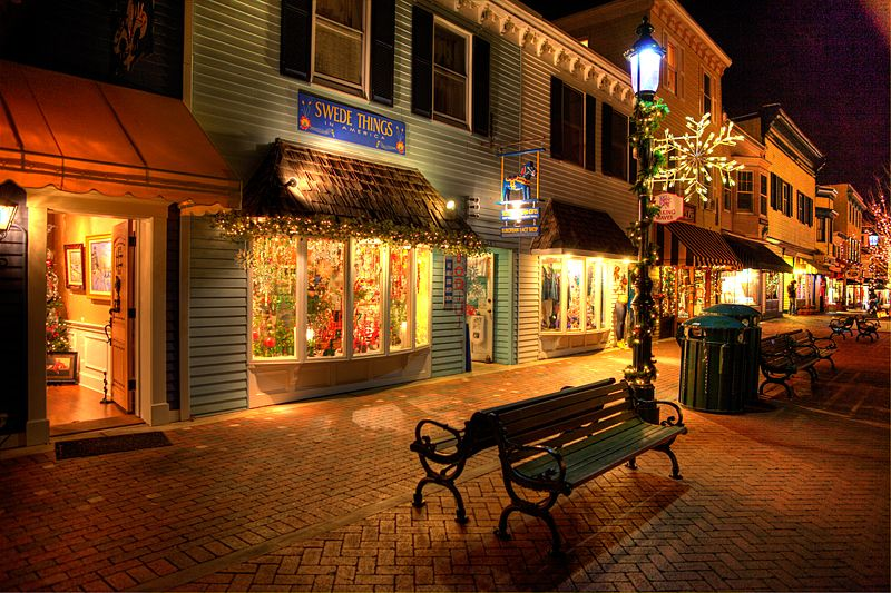 Ping At The Washington Street Mall In Cape May And Pennsylvania