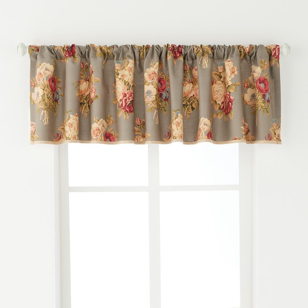 Chaps Home Hudson River Valley Window Valance