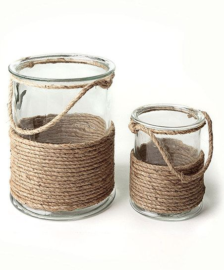 DIY recycling jars