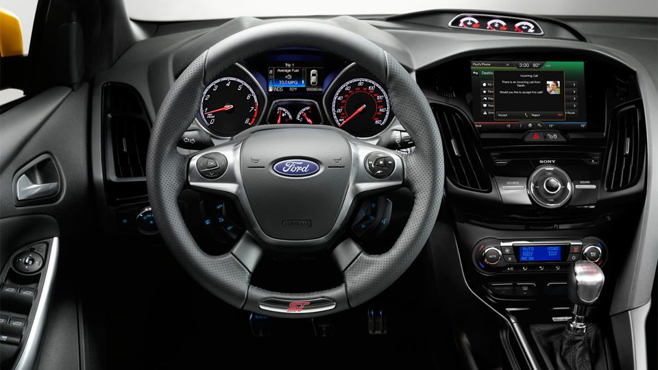 2014 Ford Focus Hatchback Car Dashboard Lights Illumination