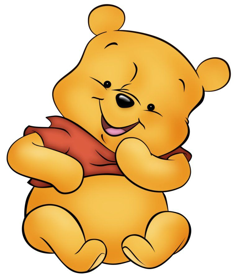 Baby Winnie The Pooh And Friends Coloring Pages  Coloing Page For